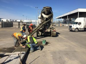 concrete curb repairs edmonton