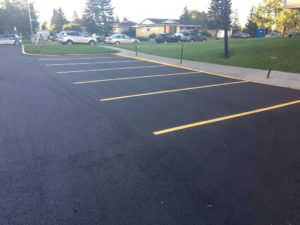 New Parking Lines Edmonton